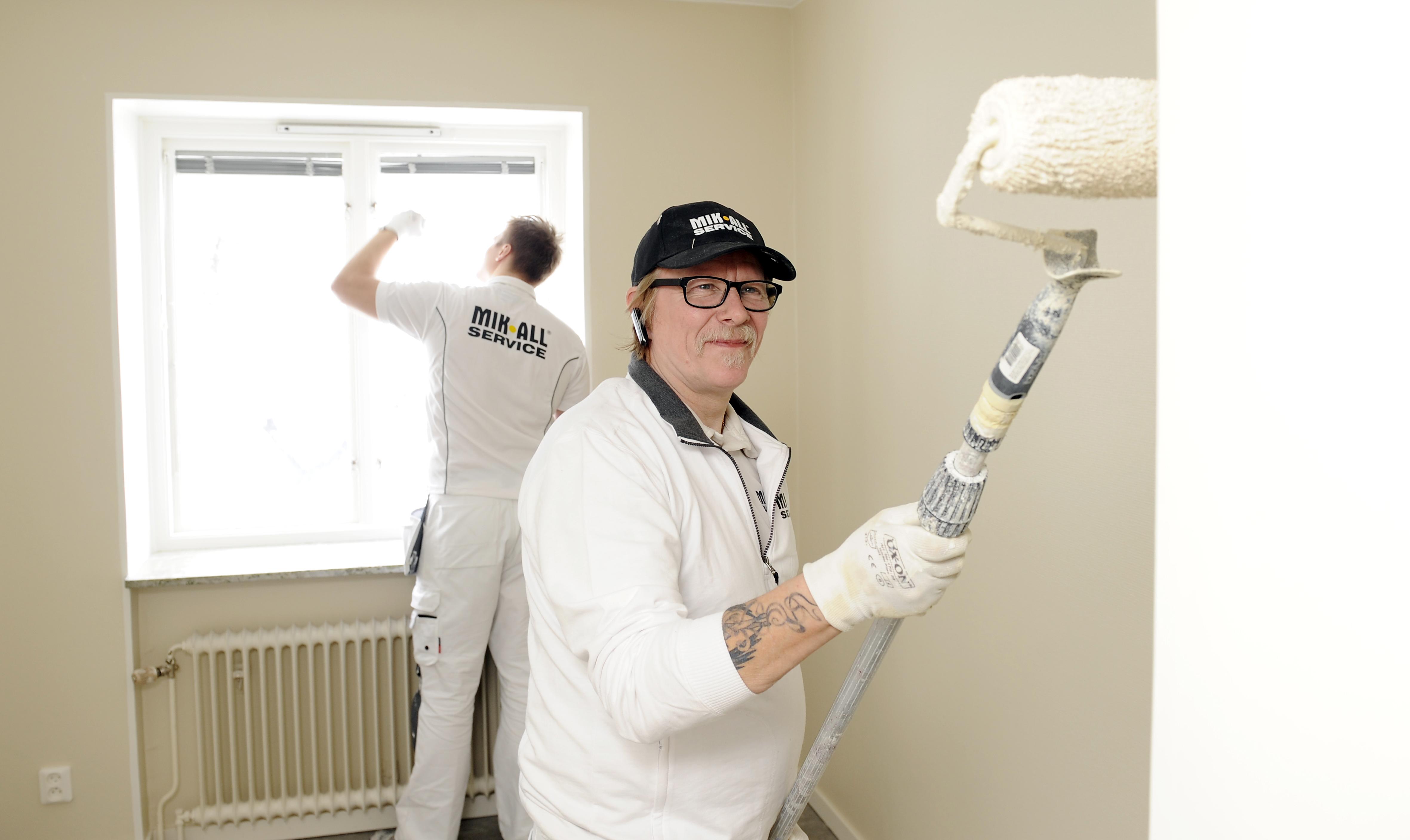 MIK ALL Service Örnsköldsvik, målare