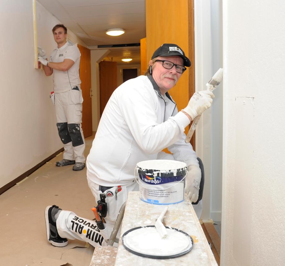 MIK ALL Service, målare i Örnsköldsvik