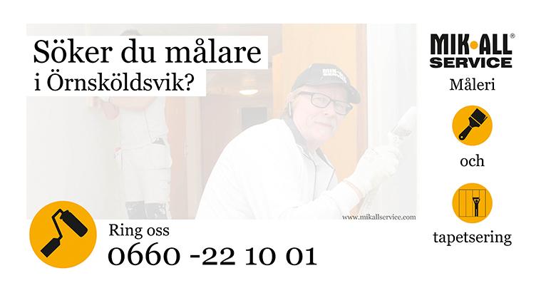 Målning och tapetsering i Örnsköldsvik och Umeå, MIK ALL Service AB