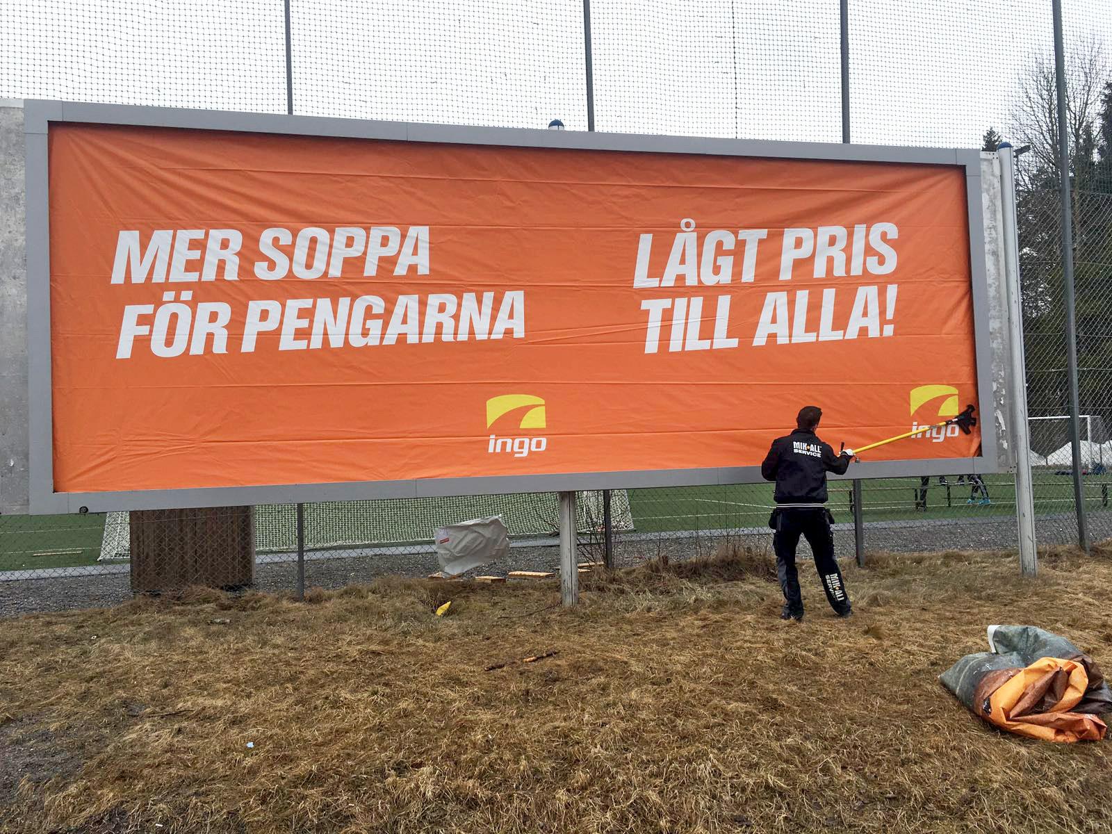 Affischering i Umeå, MIK ALL Service