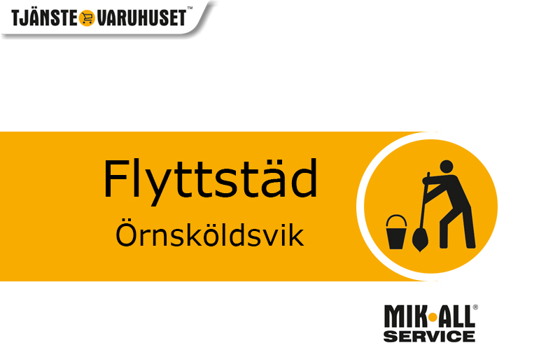Flyttstädning i Örnsköldsvik. MIK ALL Service AB, städfirma