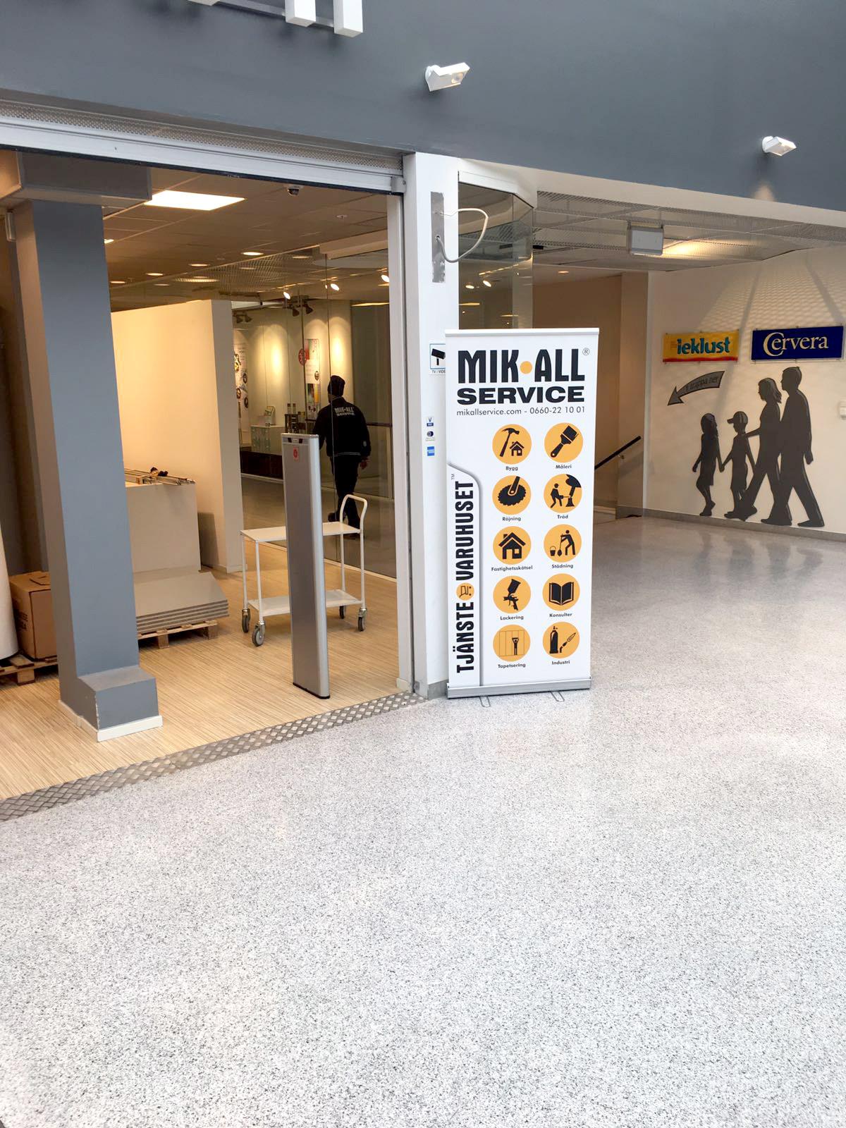 Golvvård med MIK ALL Service Städfirma i Örnsköldsvik, städtjänster