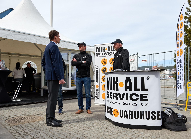 Öviksmässan 2016, MIK ALL Service AB. En vårmassa i Norrland.