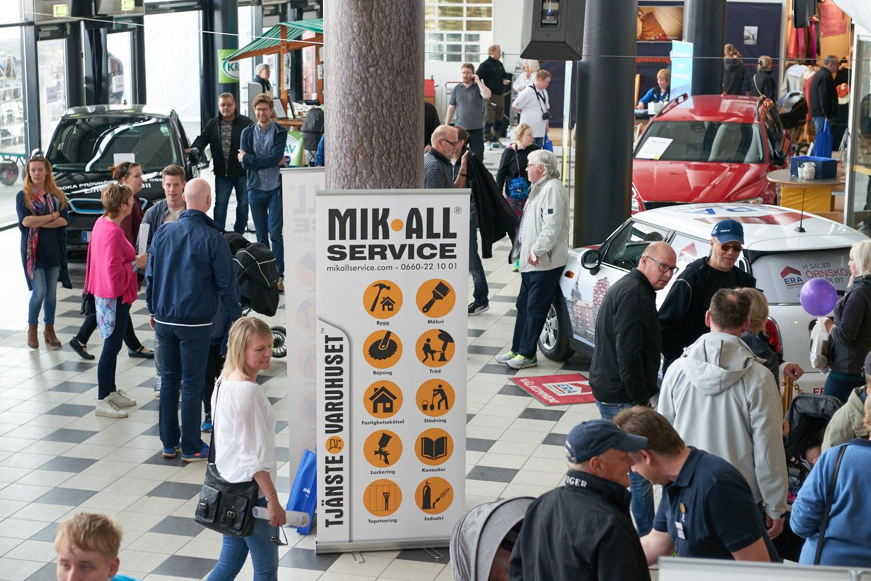 Öviksmässan 6- 8 maj 2016, - En vårmassa i Norrland. MIK ALL Service AB.