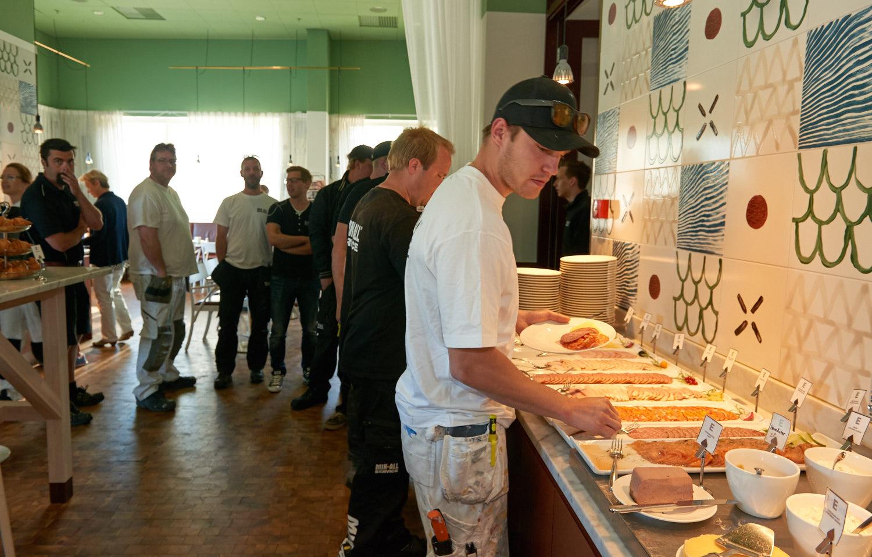 Frukost med MIK ALL Service ABs alla medarbetare på Elite Plaza Hotel i Örnsköldsvik