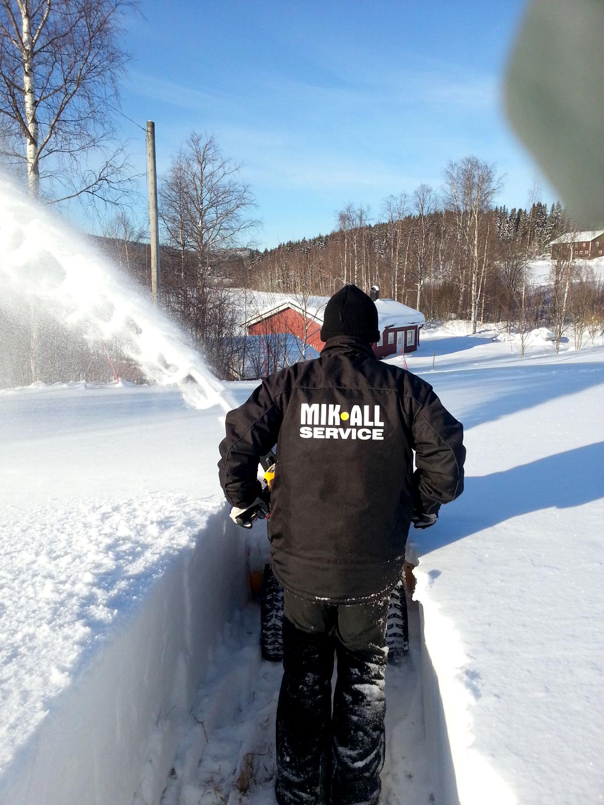 Snöröjning, Örnsköldsvik MIK ALL Service AB